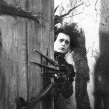 Johnny Depp è Edward mani di forbice