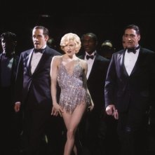 Renee Zellweger in versione Marilyn in una scena di Chicago