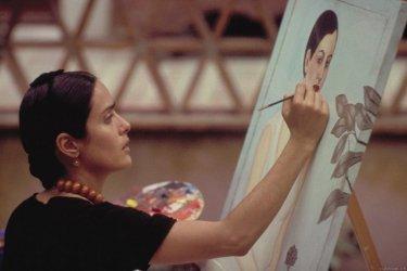 Salma Hayek nei panni di Frida Kahlo