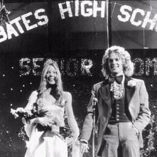 Sissy Spacek e William Katt in una scena di Carrie