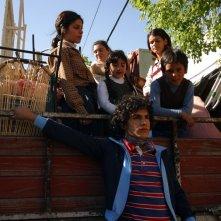 Abel Ayala in una scena del dramma Maradona, la mano di Dio