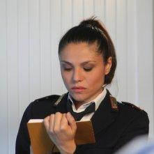 Antonia Truppo in una scena de 'Il segreto di Arianna'