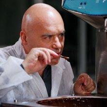L'attore Luca Zingaretti in una scena di Tutte le donne della mia vita