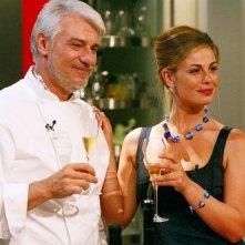 Ricky Tognazzi e Vanessa Incontrada in un'immagine di Tutte le donne della mia vita
