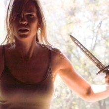 Hilary Swank in una scena drammatica del film I segni del male