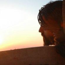 Alessandro Etrusco in una scena del film 7 km da Gerusalemme