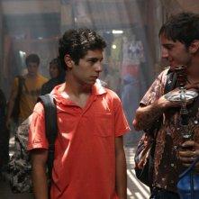 Daniele De Angelis con Nicolas Vaporidis in una scena del film Last Minute Marocco