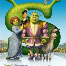 La locandina di Shrek the Third