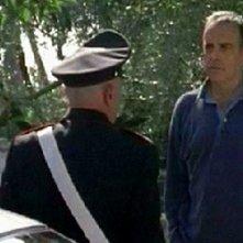 Enrico Montesano in una scena del dramma Il Lupo