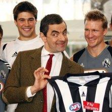Rowan Atkinson a Melbourne durante la promozione per Mr. Bean's Holiday