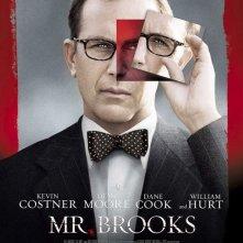 La locandina di Mr. Brooks con Kevin Costner