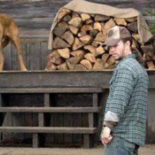 Mark Wahlberg nel 2007 in una scena di Shooter