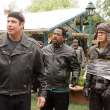 John Travolta, Martin Lawrence e William H. Macy in Svalvolati on the Road