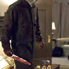 Tyler Mane in una scena del film Halloween - The beginning