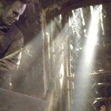 Tyler Mane in una scena del film Halloween (2007)