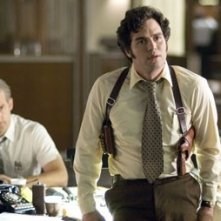Anthony Edwards eMark Ruffalo in una scena del film Zodiac