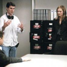 Billy Ray, Laura Linney e Ryan Phillippe sul set di Breach - L'infiltrato