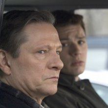 Chris Cooper e Ryan Phillippe in una scena di Breach - L'infiltrato