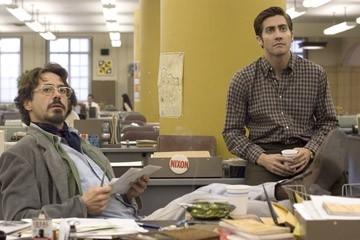 Robert Downey Jr. e Jake Gyllenhaal in una scena del film Zodiac