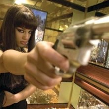 Alicia Keys in una scena del film 'Smokin' Aces' (2007)