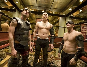 Chris Pine Kevin Durand E Maury Sterling In Una Scena Del Film Smokin Aces 39974