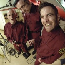 Chris Pine, Kevin Durand e Maury Sterling in una scena del film 'Smokin' Aces'