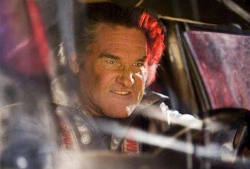 Kurt Russell in una scena del film Death Proof, episodio del double feature Grind House diretto da Robert Rodriguez e Quentin Tarantino