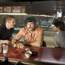 Martin Henderson, Ben Affleck e Peter Berg in una scena del film Smokin' Aces