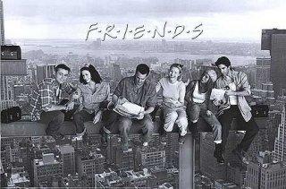 Un'immagine promozionale della serie Friends con i protagonisti