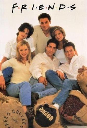 I protagonisti della serie Friends