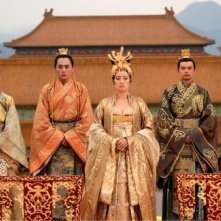 Gong Li in una sequenzadel film La città proibita