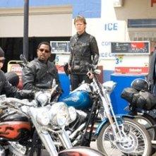 John Travolta con Martin Lawrence, Tim Allen e William H. Macy in Svalvolati on the Road
