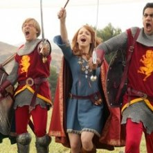 Kal Penn, Adam Campbell, Faune Chambers e Jayma Mays in una scena del film Epic Movie