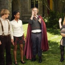 Kevin McDonald, Adam Campbell, Faune Chambers e J ayma Mays in una scena del film Epic Movie