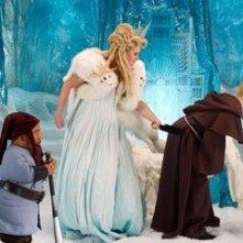 Tony Cox, Jennifer Coolidge e Kal Penn  in una scena di Epic Movie