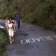 Olivia Wilde, Josh Duhamel e Melissa George in una scena del thriller Turistas