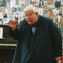 Richard Griffiths in una scenadel film The History Boys