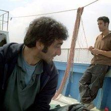 Raoul Bova e Giovanni Martorana in una scena del film Io, l'Altro