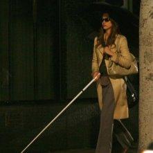 Jessica Alba sul set del film The Eye, remake dell'omonima ghost story orientale