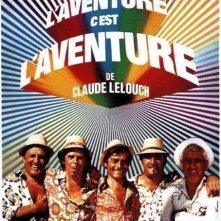 La locandina di L'avventura è l'avventura