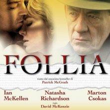 La locandina italiana di Follia