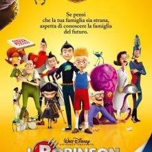 La locandina italiana di I Robinson - Una famiglia spaziale