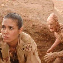 Daniella Alonso  in una scena drammatica di The Hills Have Eyes II (2007)