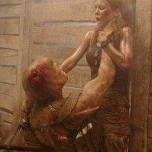 Jessica Stroup in una scena di The Hills Have Eyes II