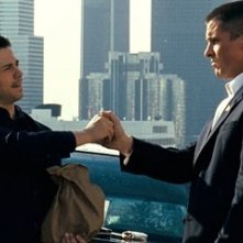 Christian Bale e Freddy Rodriguez in una scena del film Harsh Times - I giorni dell'odio