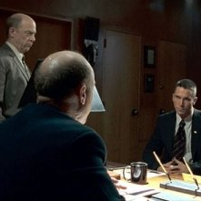 J.K. Simmons e Christian Bale in una scena del film Harsh Times - I giorni dell'odio