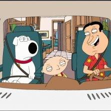 Una scena di 'La storia segreta di Stewie Griffin' (2005)