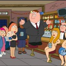 Una scena di 'La storia segreta di Stewie Griffin'