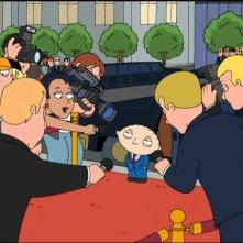 Una sequenza di 'La storia segreta di Stewie Griffin'