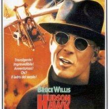 La locandina di Hudson Hawk - Il mago del furto